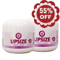 Combo giảm 55% khi mua bộ đôi Upsize Breast Cream chính hãng từ Mỹ