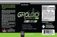 Thực phẩm tăng cơ bắp Groloid an toàn cho nam giới
