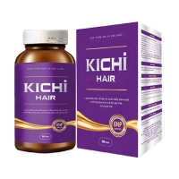 Kichi Hair - Viên uống giúp tóc chắc khỏe, giúp tóc đen mượt