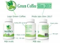 Viên uống giảm cân an toàn nhanh chóng GREEN COFFEE SLIM 2017