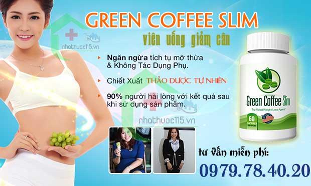 thông tin giảm cân green coffee slim