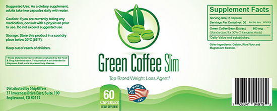 combo green coffee và La'queen Slim